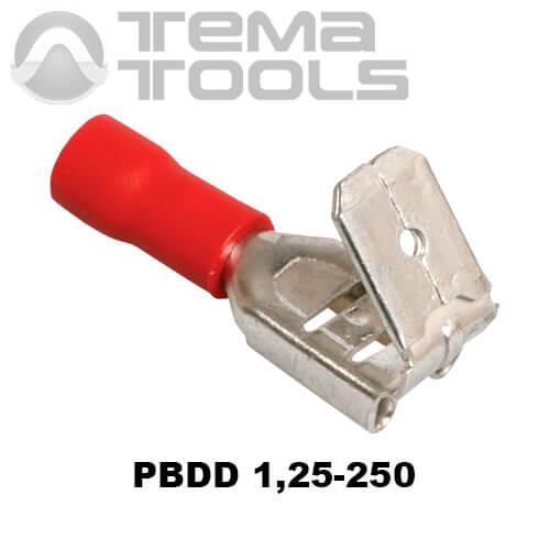 Коннектор плоский универсальный PBDD 1,25-250 папа-мама