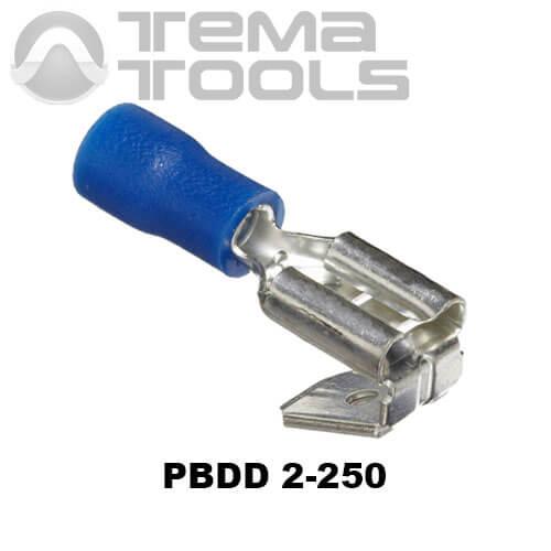Коннектор плоский универсальный PBDD 2-250 папа-мама