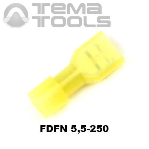 Разъем плоский FDFN 5,5-250 мама