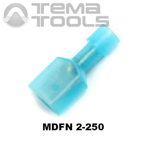 Разъем плоский MDFN 2-250 папа
