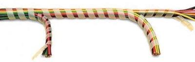 Спиральная обвязка с ответвлением жгутов