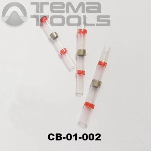 Термоусадочная гильза с припоем CB-01-002 красная