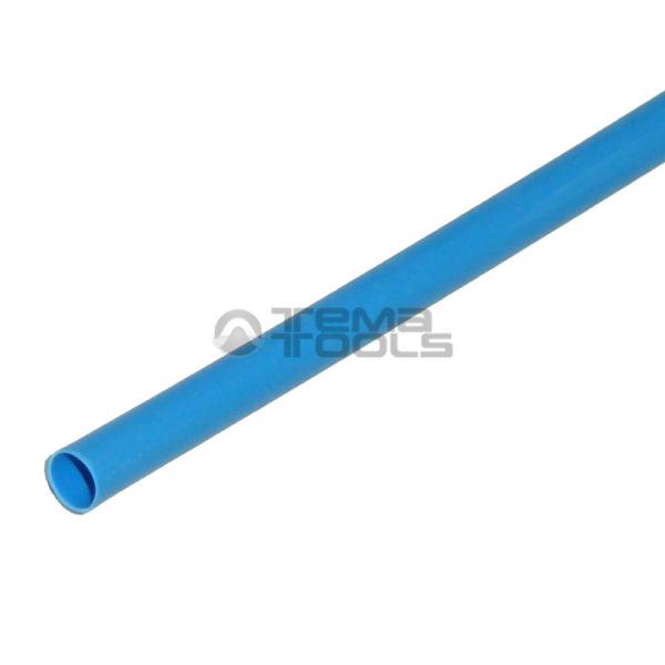 Термоусадочная трубка 2:1 1мм синяя