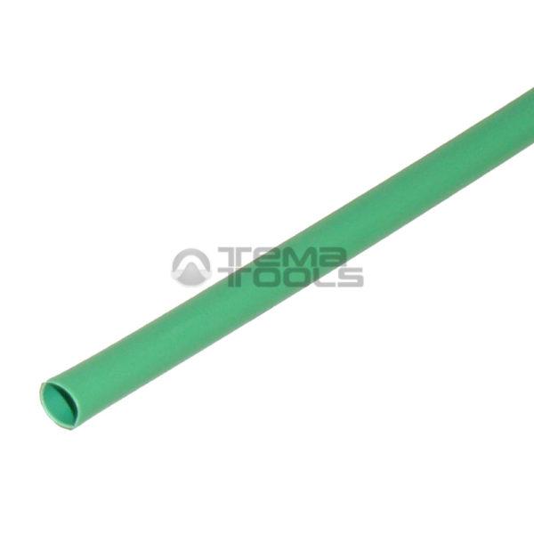 Термоусадочная трубка 2:1 1мм зеленая