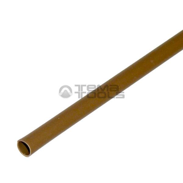 Термоусадочная трубка 2:1 2,5 мм коричневая