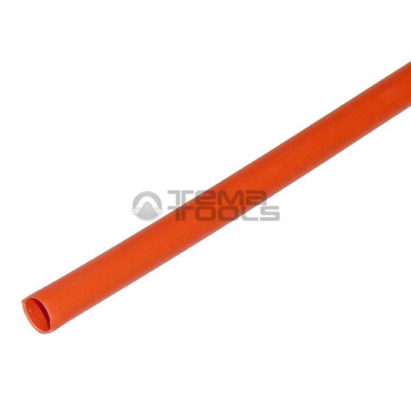 Термоусадочная трубка 2:1 2 мм оранжевая