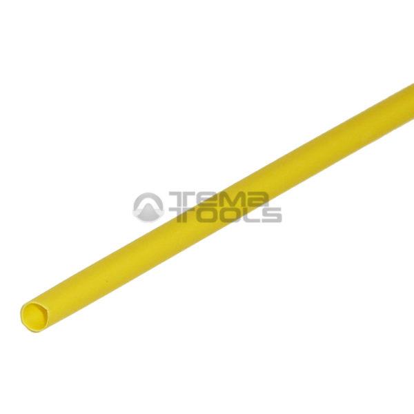 Термоусадочная трубка 2:1 1,5мм желтая