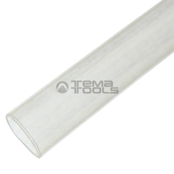 Термоусадочная трубка 2:1 10 мм прозрачная