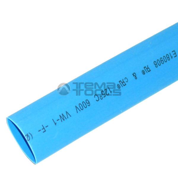 Термоусадочная трубка 2:1 10 мм синяя