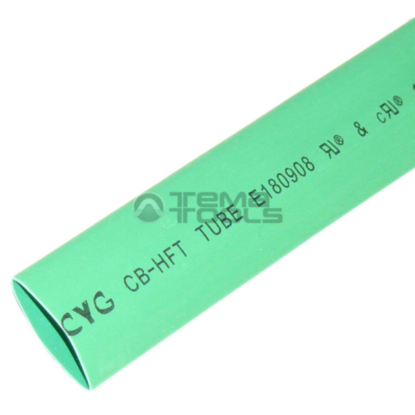 Термоусадочная трубка 2:1 10 мм зеленая