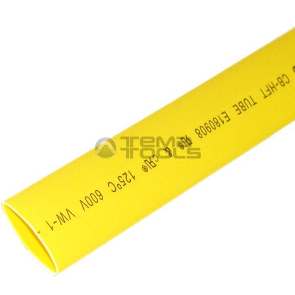 Термоусадочная трубка 2:1 10 мм желтая