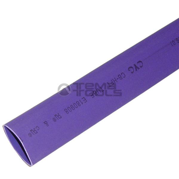 Термоусадочная трубка 2:1 12 мм фиолетовая