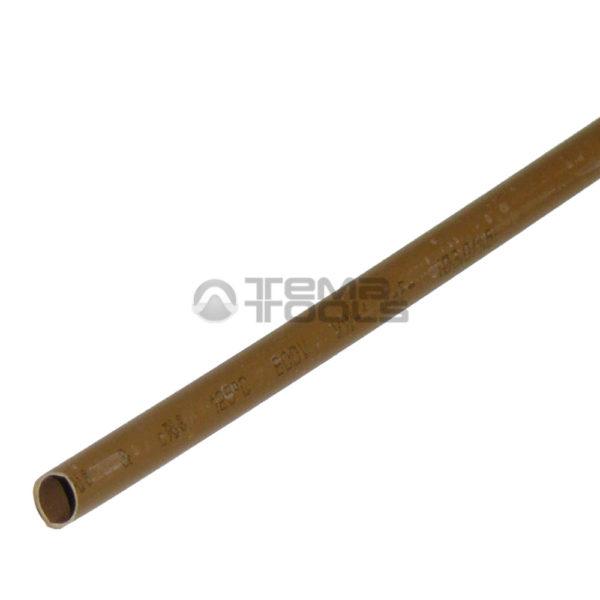 Термоусадочная трубка 2:1 3 мм коричневая