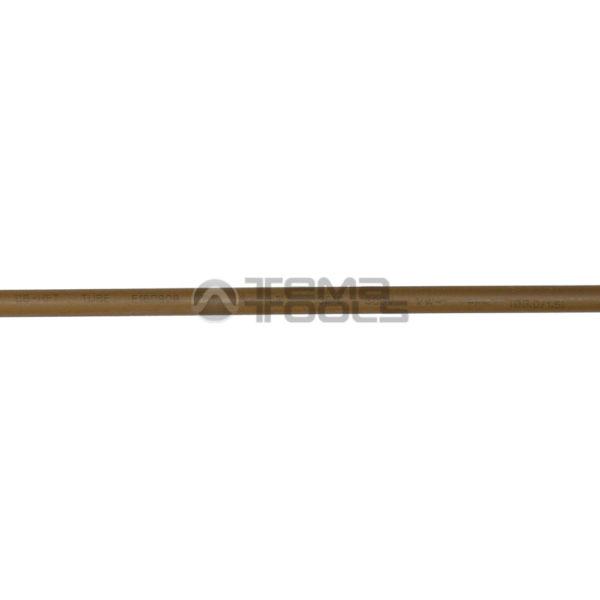 Термоусадочная трубка 2:1 3 мм коричневая (надпись)