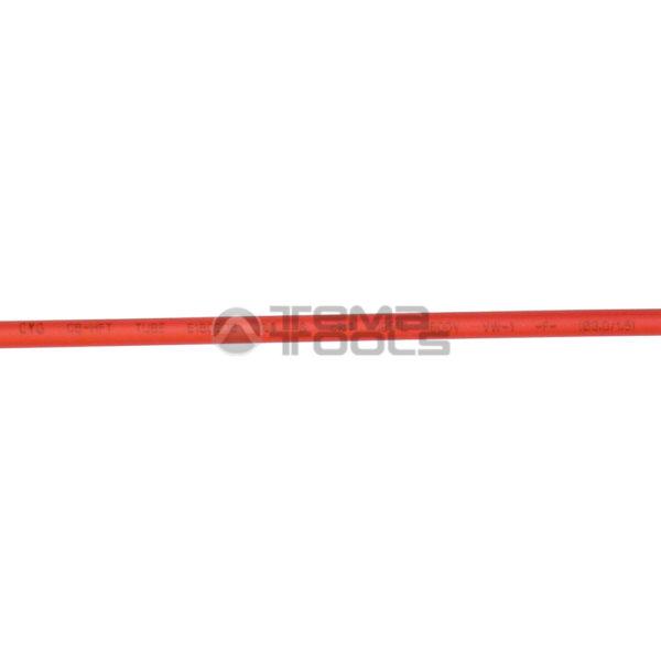 Термоусадочная трубка 2:1 3 мм красная (надпись)