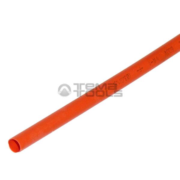 Термоусадочная трубка 2:1 3 мм оранжевая