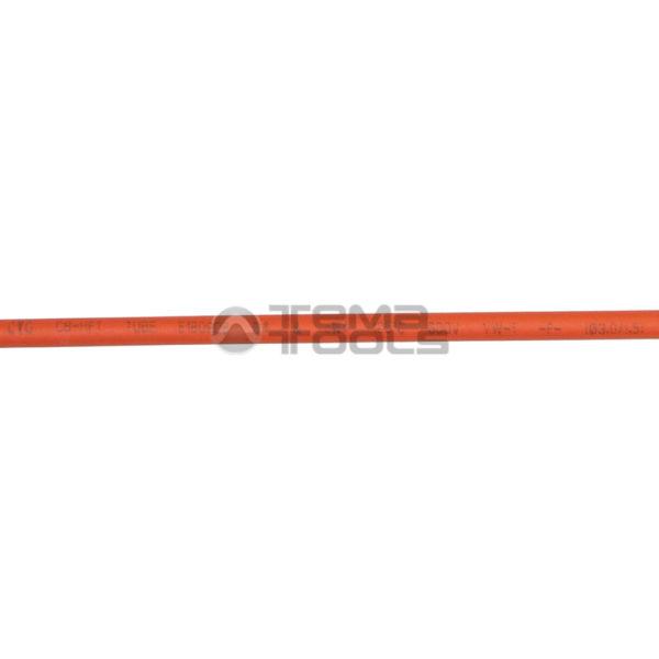 Термоусадочная трубка 2:1 3 мм оранжевая (надпись)