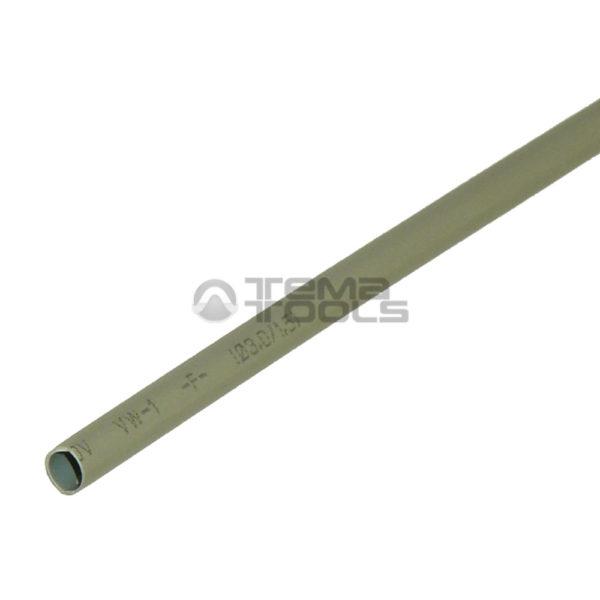 Термоусадочная трубка 2:1 3 мм серая