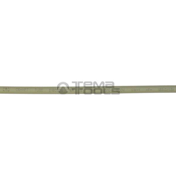 Термоусадочная трубка 2:1 3 мм серая (надпись)