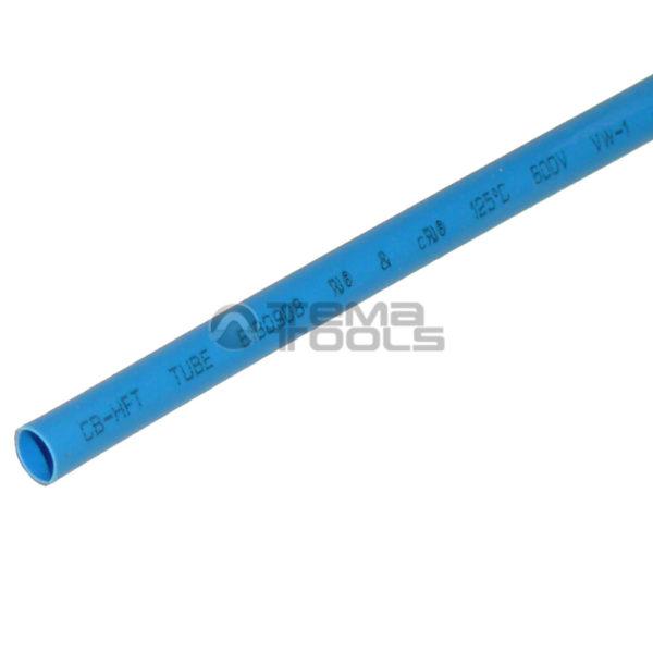Термоусадочная трубка 2:1 3 мм синяя
