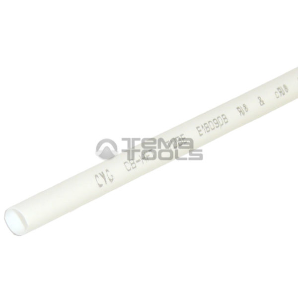 Термоусадочная трубка 2:1 4 мм белая