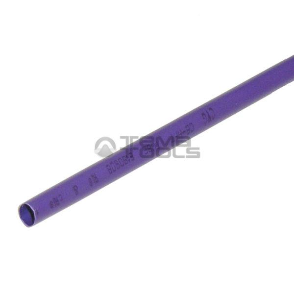 Термоусадочная трубка 2:1 4 мм фиолетовая