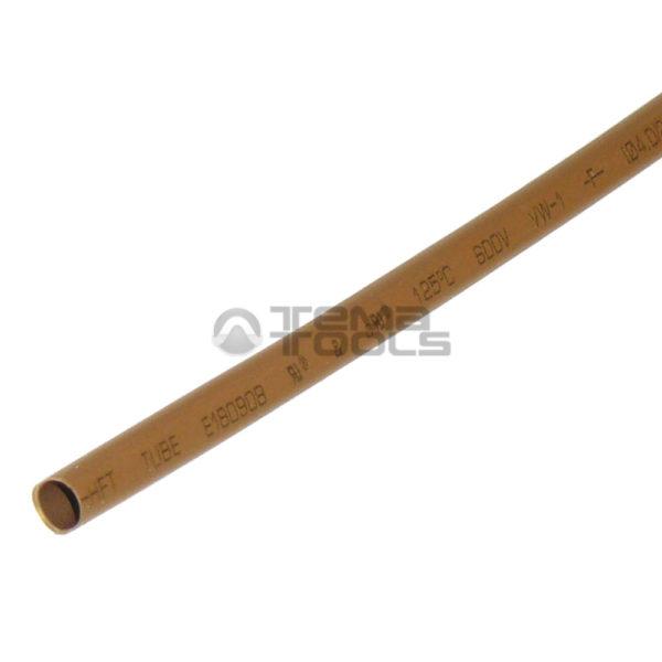 Термоусадочная трубка 2:1 4 мм коричневая