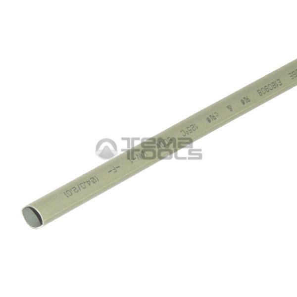 Термоусадочная трубка 2:1 4 мм серая