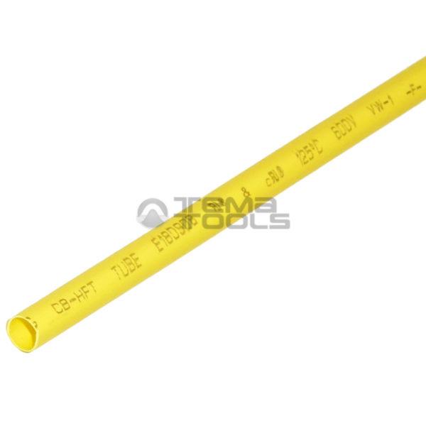 Термоусадочная трубка 2:1 4 мм желтая