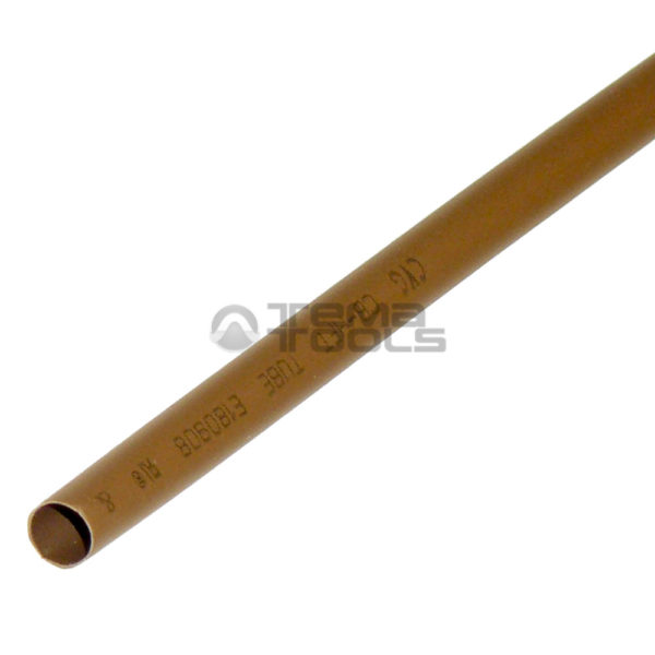 Термоусадочная трубка 2:1 5 мм коричневая