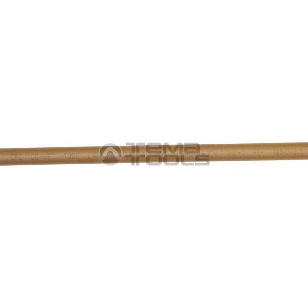 Термоусадочная трубка 2:1 5 мм коричневая (текст)