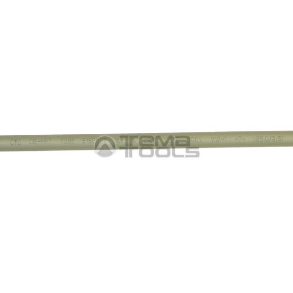 Термоусадочная трубка 2:1 5 мм серая (текст)