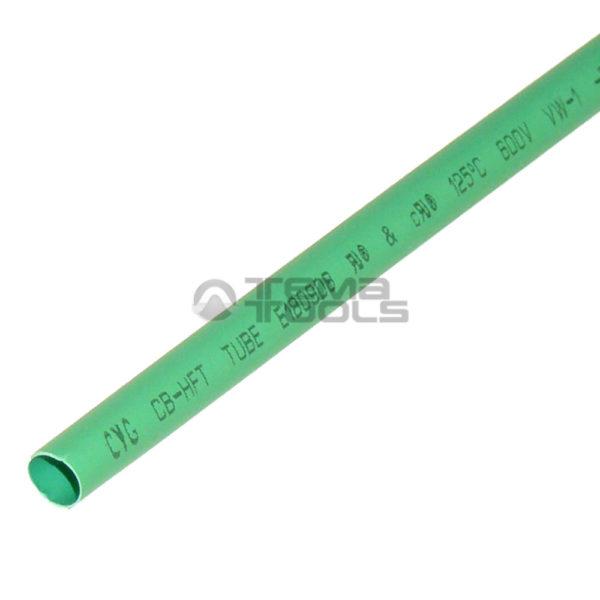 Термоусадочная трубка 2:1 5 мм зеленая