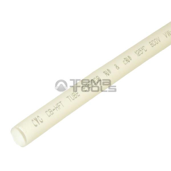 Термоусадочная трубка 2:1 6 мм белая