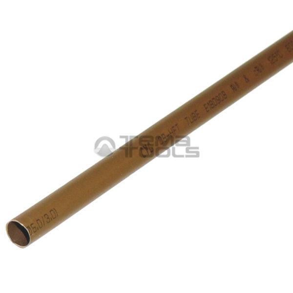 Термоусадочная трубка 2:1 6 мм коричневая