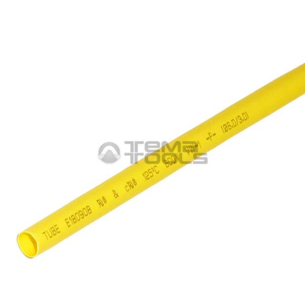 Термоусадочная трубка 2:1 6 мм желтая