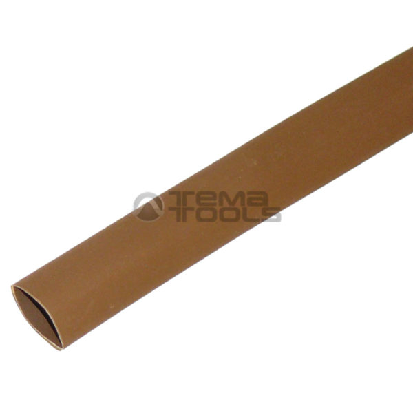 Термоусадочная трубка 2:1 8 мм коричневая
