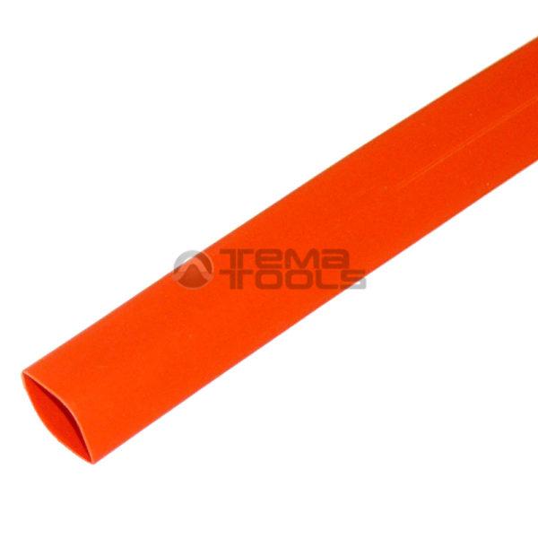 Термоусадочная трубка 2:1 8 мм оранжевая