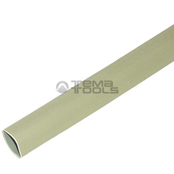 Термоусадочная трубка 2:1 8 мм серая