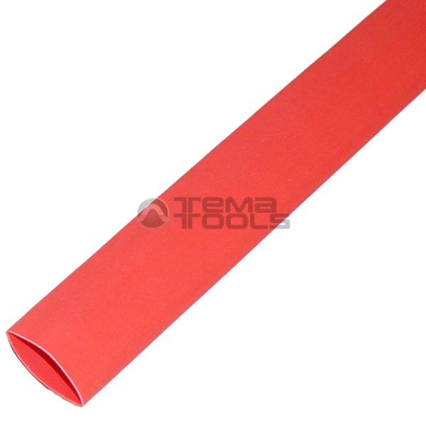 Термоусадочная трубка 2:1 14 мм красная