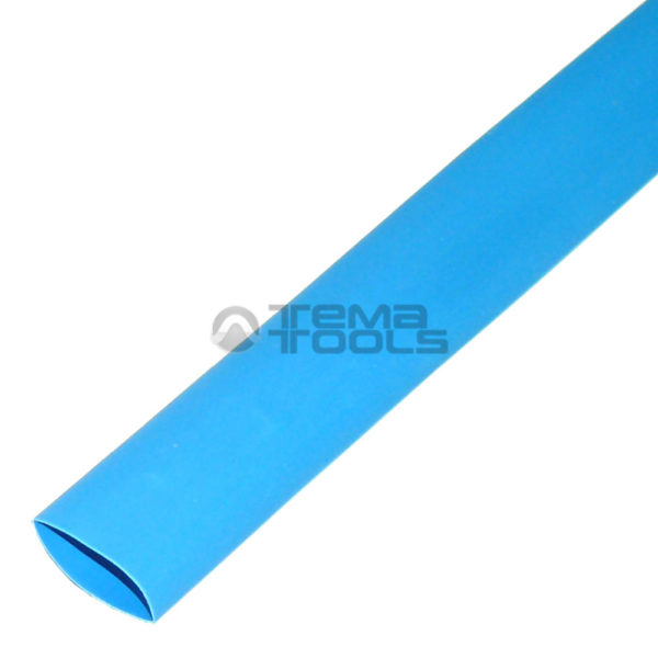 Термоусадочная трубка 2:1 16 мм синяя