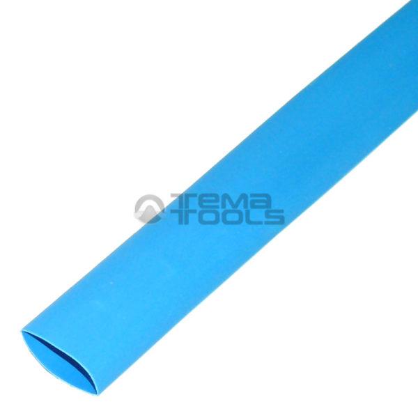 Термоусадочная трубка 2:1 25 мм синяя
