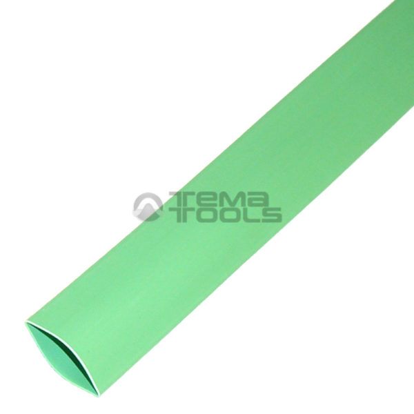Термоусадочная трубка 2:1 20 мм зеленая
