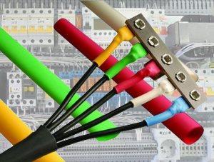 Маркировка проводов цветной термоусадкой