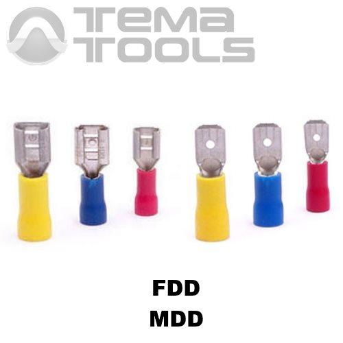 Плоские коннекторы с частичной изоляцией FDD и MDD