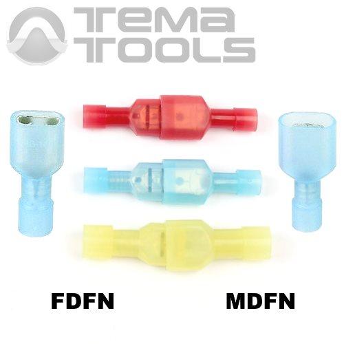 Разъемы плоские полностью изолированные FDFN и MDFN