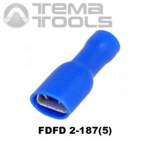 Клемма плоская FDFD 2-187(5) мама