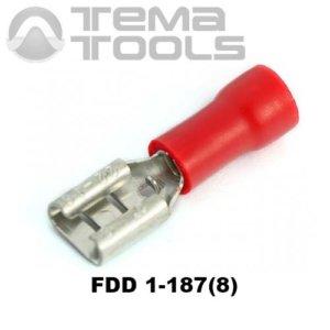 Плоский коннектор FDD 1-187(8) мама