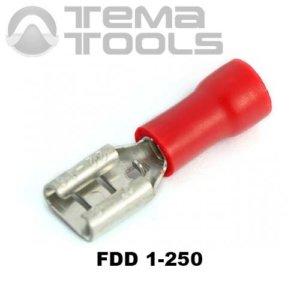 Плоский коннектор FDD 1-250 мама