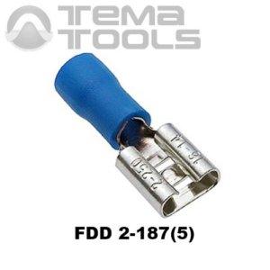Плоский коннектор FDD 2-187(5) мама